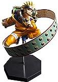 LHLBD Naruto Uzumaki Naruto Resurrección de los Ojos de la Rueda de Sangre Modelo de Anime Estatua Decoración Adornos Personaje Animado Figura de acción Arte de para niños 23cm - Primera Clase