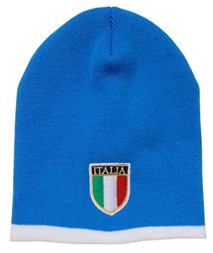 Arena sjaals Italië Rugby blauw en wit gestreepte muts