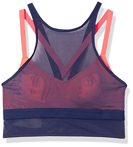 adidas All Me Layer - Bañador para Mujer, Mujer, Traje de baño de una Pieza, GLE08, App Solar Rojo/Tech Indigo, 32 D