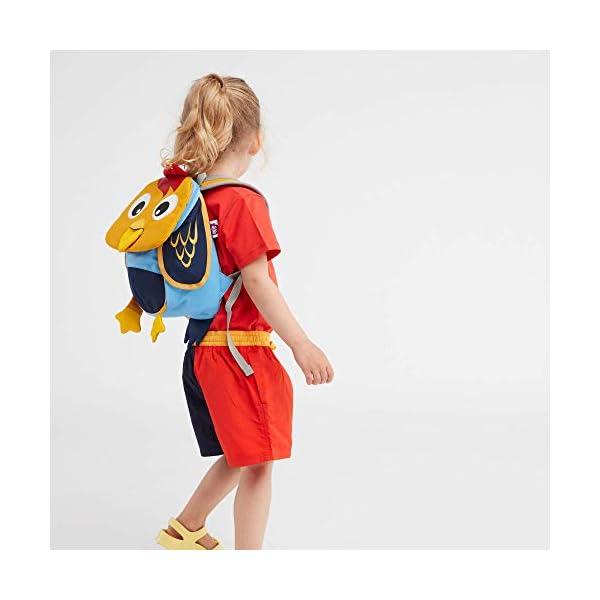 412i1gh71fL. SS600  - Affenzahn Mochilas 3-5 Años Oso (Novedad) Mochila Infantil, 18 Cm, Multicolor