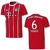 adidas Bayern Trikot Home Herren 2018 - Thiago 6, Größe:XXXL