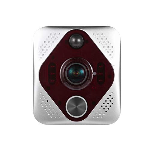 Prtukytt video deurbel 1080P real-time twee-weg dialoog en video, nachtzichtapparaten, PIR-bewegingsdetectie en gebruiksbesturing voor iOS, Android