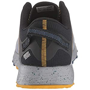 New Balance Men's Arishi V1 Fresh Foam Trail Running Shoe, Steel/Stone Blue/Black, 9 D US