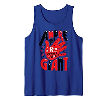 WWE Andre the Giant  8th Wonder Hand Illustrated  Graphic Tank Top