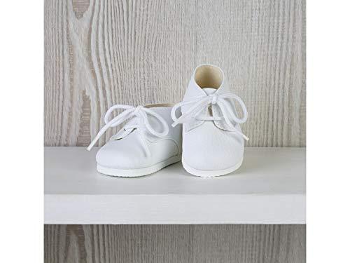 ASIVIL Zapatos Blancos con Cordones Muñeca 43-46 cm 5361601