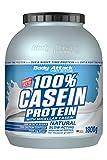 Body Attack 100% proteína de caseína, rico en aminoácidos esenciales, desarrollo de músculos, bajo en carbohidratos para, los atletas y las personas conscientes de su físico, natural, 1,8kg