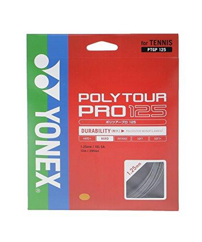 ヨネックス(YONEX) POLYTOUR PRO125 (テニス用) グラファイト PTGP125