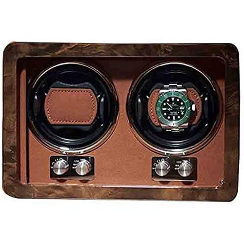 ZKLL Raya Automático Winder Rotating Watch Box 2 Slot Watch Winder Storage Mecánica Bodineros Regalo De Lujo
