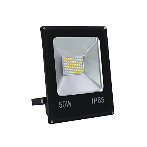 VINGO® 50W Smd LED Fluter Außen Flutlicht Strahler Scheinwerfer IP65 Warmweiß