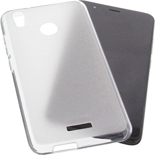 foto-kontor Tasche für Gigaset GS270 / GS270 Plus Gummi TPU Schutz Handytasche transparent