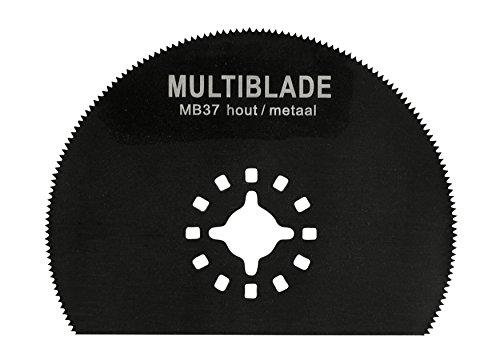 Multiblade Universell Bimetall-Sägeblatt 80mm (Holz, Metall, Kupfer, Aluminium, Nägel, PVC, Kunststoff) MB37