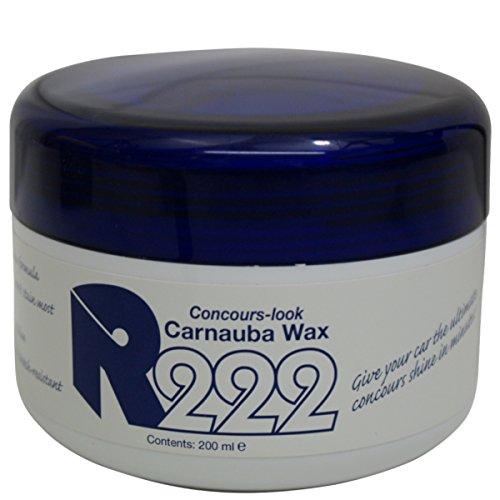 R222 Concours Carnauba Wachs/Wax 200 ml