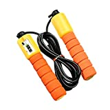 XINJIA Springseil Sponge Handle Count Rope Skipping, Outdoor-Sport Fitness-Training zur...