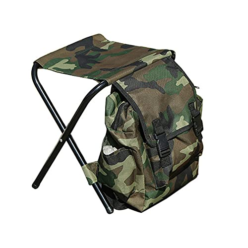 Wopam Silla plegable para exterior, bolsa de almacenamiento, senderismo, camping, etc.