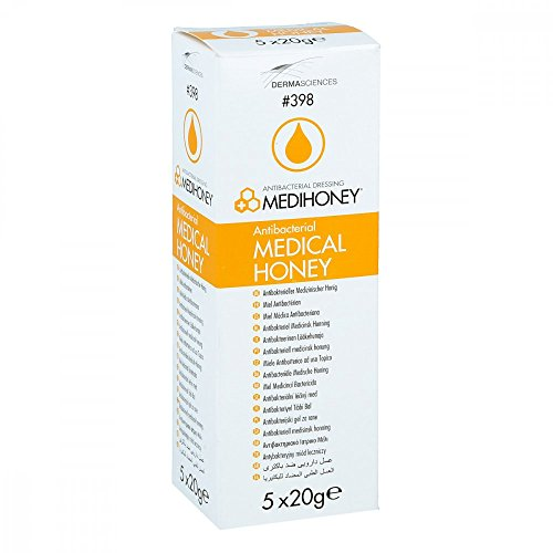 Medihoney - Antibakterieller Medizinscher Honig ( 5 x 20g )