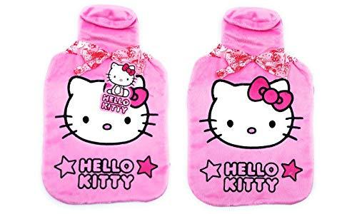 Hello Kitty Star Designs Wärmflasche und Bezug, hochwertig