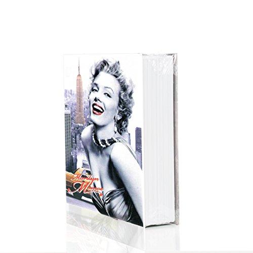 Safebook Hollywood - Caja fuerte con cerradura de combinación (tamaño pequeño)