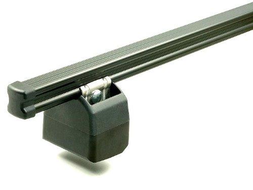 Aurilis Dachträger Pro kompatibel mit FIAT Doblo (Hochdachkombi 5 Türer) 2001-2009 2 Stangen