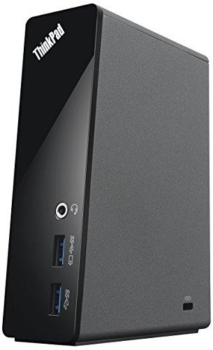 Lenovo ThinkPad OneLink Pro Dock (US) schwarz–Stationen Dockingstation (Cable, 10,100,1000Mbit/s, ThinkPad Edge E431, ThinkPad Edge E440, ThinkPad Edge E531, ThinkPad Edge E540, ThinkPad S1Yoga,..., 90W, Schwarz, 48mm)