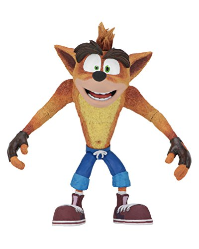 NECA Crash Bandicoot Action Figur 15cm [Edizione: Germania]