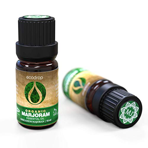 Marjoram Essential Oil, Cosmos Certified Organic, 100% Pure, Egyptian Therapeutic Grade for...