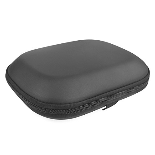 Headphones Case for Sony MDR-ZX100, ZX110, ZX300, ZX310, XB200, ZX102DPV, Sennheiser HD218, HD229, HD239 Headphones Hard Carrying Case/Travel Bag with Space for Cable and Accessories (Pearl Black)
