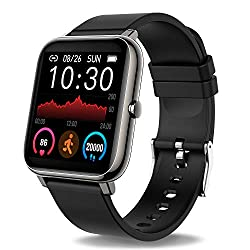 Image of Donerton Smart Watch, Fitness Tracker for Android Phones, Fitness Tracker with Heart Rate and Sleep Monitor, Activity Tracker with IP67 Waterproof Pedometer Smartwatch with Step Counter for Women Men: Bestviewsreviews