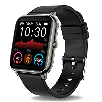Donerton Smart Watch Fitness Tracker for Android Phones Fitness Tracker with Heart Rate and Sleep Monitor Activity Tracker with IP67 Waterproof Pedometer Smartwatch with Step Counter for Women Men