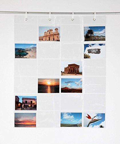 Unbekannt Fotovorhang 65 x 80cm (BxH) Fotogalerie Kartengalerie mit 24 Taschen!