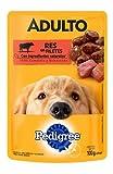 PEDIGREE alimento húmedo para perros adultos. Sabor: Res en Filetes. Contiene...
