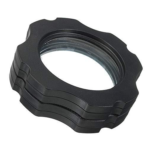 Yaunli Vergrootglas Aquarium Magnetische Vistank Glazen Schraper Vergrootglas Tot 15 mm Leesvergrootglas