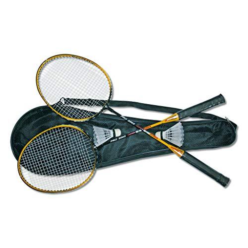 """Wiemann Lehrmittel Badminton-Set """"Cap"""", 5-teilig, inkl. Schläger und Bälle"""