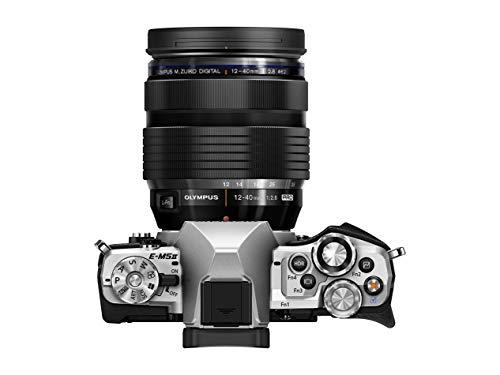 Olympus OM-D E-M5 Mark II Kit, Micro Four Thirds Systemkamera (16.1 Megapixel, 5-Achsen Bildstabilisator, elektronischer Sucher) + M.Zuiko 12-40mm PRO Universalzoom, silber/schwarz