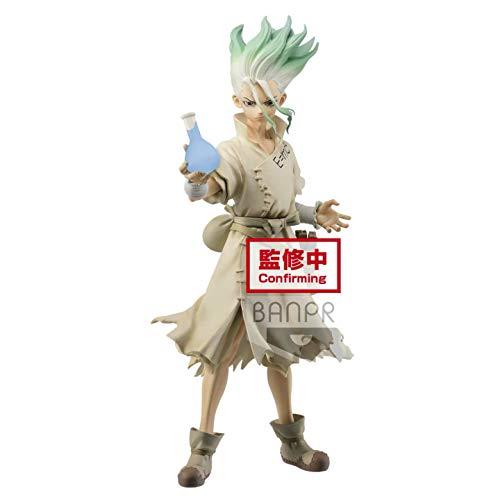 DS Banpresto Dr.Stone Figure of Stone World SENKU ISHIGAMI PVC Action Figur Model Figurals