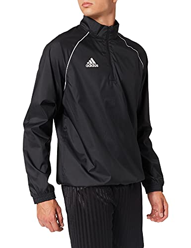 adidas CORE18 WINDBR Sport jacket, Hombre, Black/ White, L