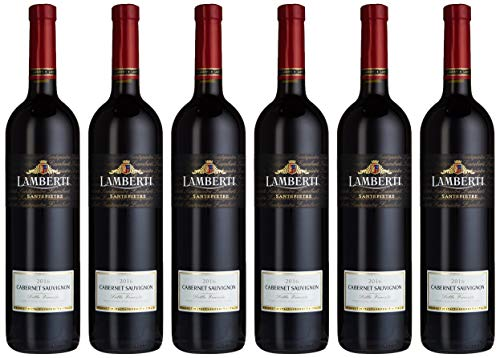 Lamberti Cabernet Sauvignon Santepietre Rotwein Trocken (6 X 0.75 L)