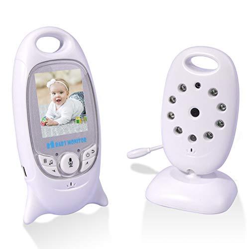 RCB Baby Monitor Camera Baby Monitor video babyphone senza fili Baby Lullaby Screen LCD Conversazione bidirezionale (VB601)