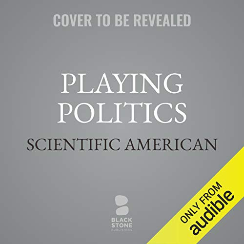 Playing Politics audiobook cover art