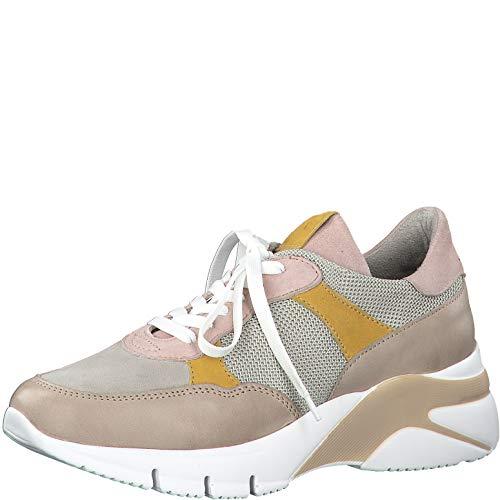 Tamaris Elle Sneaker Dames Beige/Meerkleurig