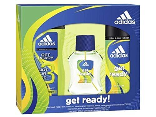 Adidas coffret cadeau Get Ready ! 3 produits