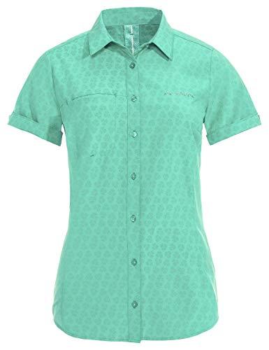 VAUDE Women's Rosemoor Shirt Blouse Femme, Opal Mint, FR Unique (Taille Fabricant : 34)