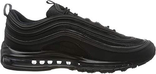 Nike Herren Air Max 97 BQ4567-001 Fitnessschuhe, Schwarz (Black/Black/White 001), 44 EU