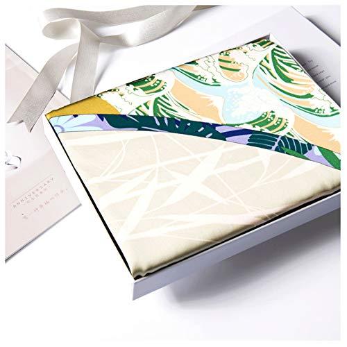 Xu Yuan Jia-Shop Moda Bufanda Chal Ligera Bufanda de Moda Impreso Damas Wrap súper Bufandas Sedoso Plaza Chal, for Las señoras Bufanda acogedora (Color : A14)