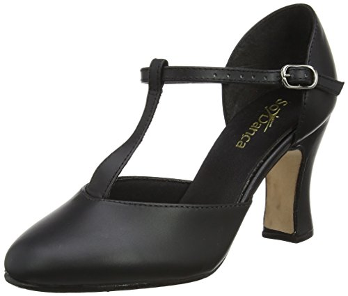 So Danca Ch98, Zapatos Tap Mujer, Negro Black, 38