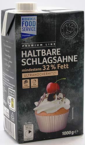 Premium Line Haltbare Schlagsahne, 3er Pack (3 x 1 l)
