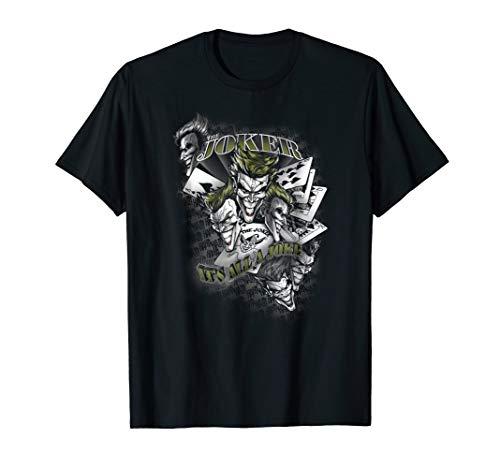 Batman the Joker It's All a Joke T Shirt