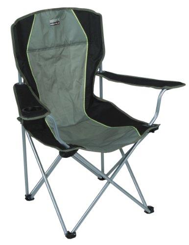 High Peak 44105 Camping Chair 4leg(s) Nero, Oliva Sedia da Campeggio
