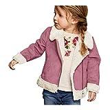 Sonnena Bebé Girls Cálido con Capucha Ropa Infantil Chaquetas de Felpa Otoño e Invierno Essentials Hooded Puffer Jacket