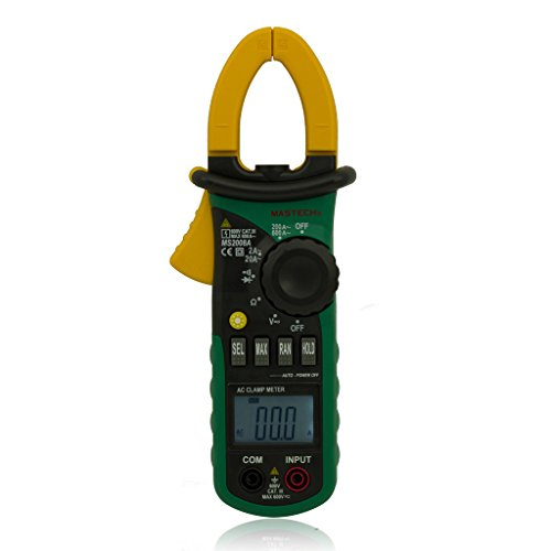 Mastech MS2008A Mini Clamp Meter Backlight Datahold Auto Power
