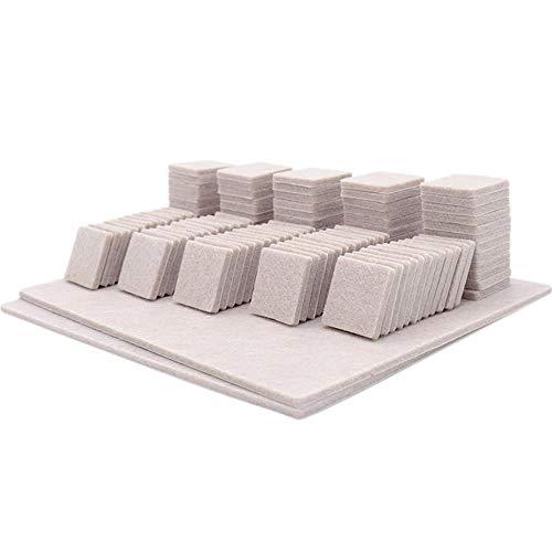 Möbelfilzpolster & Möbelpolster , Bodenschutz für Stuhlbeine mit starker Haftung, 3 mm dicke Bodenschutzpolster für Langlebigkeit-A-5
